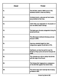 6th Grade ELA Common Core Style & Tone Worksheet by ...