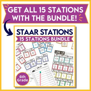 6th Grade STAAR Practice Station 6: Measurement