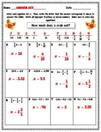 Common Core 7th Grade Math Worksheets With Answer Key ...