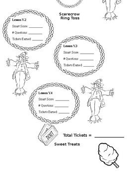 7th Grade iXL Fall Festival Challenge Review (Editable) by