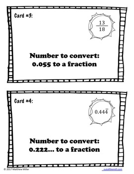 8.NS.1 Rational and Irrational Numbers: Cooperative