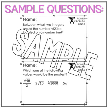 8th Grade Math Word Problems The Number System Math Review