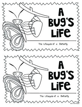 A Bug's Life (Butterfly) Science for Kindergarten and