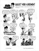 Subject Verb Agreement: A Comic Lesson with Activities by