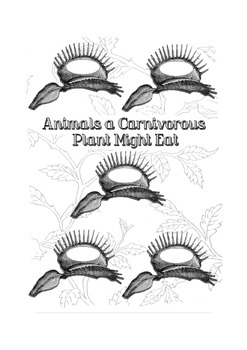 A Glimpse at Carnivorous Plants: A Thematic Notebooking
