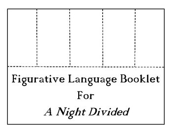 A Night Divided CHOICE BOARD BUNDLE 11 Activity Pages No