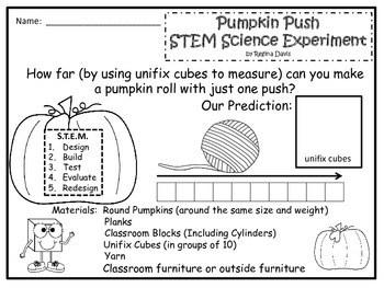 STEM Science, Technology, Engineering & Math Pumpkin Push