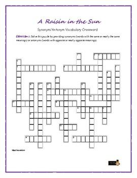 a raisin in the sun plot diagram nest smoke alarm wiring vocabulary teaching resources teachers pay synonym antonym crossword fun