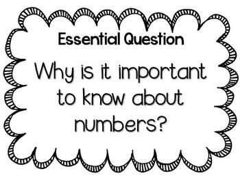 A Teacher's Math Resource Unit 1 Numeracy {free} by Reagan
