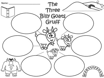 A+ The Three Billy Goats Gruff Three Graphic