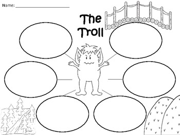 A+ The Troll From The Three Billy Goats Gruff: Graphic