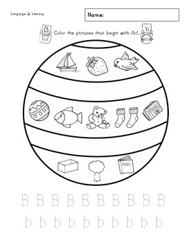 A-Z Phonics & Writing Practice Worksheet Packet by Crystal
