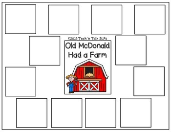 AAC Interactive Old McDonald Had a Farm by Tech 'n Talk