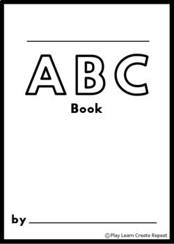 ABC Book Templates: Project Based Learning, Letter of the