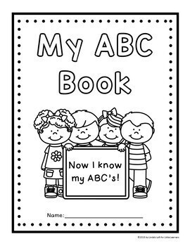 ABC Coloring Book Printables by Linda's Loft for Little