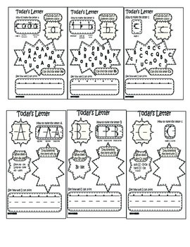 ABC Printing and activity Booklet Compatible with