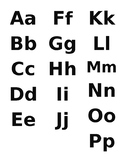 Lower Case Letters Flashcards Teaching Resources