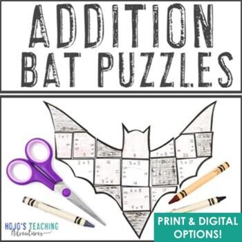 Teaching a unit on bats Use the cross curricular bat math