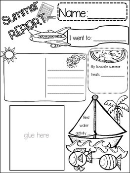 ALL ABOUT SUMMER POSTER {{quick topics}} one interactive