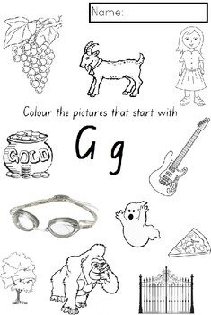 ALPHABET COLOURING activities Kindergarten (NSW Foundation