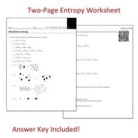 Entropy Worksheet Photos - Getadating