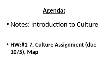 AP Human Geography Chapter 4: Folk and Popular Culture by