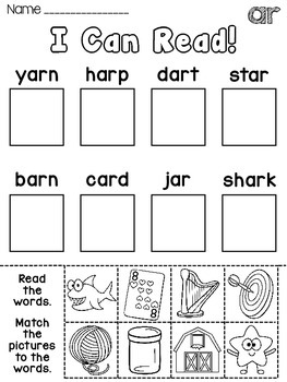 Beautiful R Controlled Vowels Worksheets 1st Grade 1000