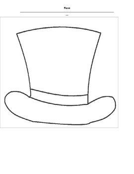Abe Lincoln's Hat- A Writing Response/ Class Book by
