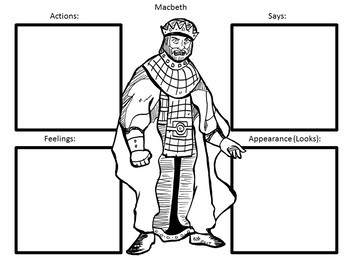 Activities and Handouts for Macbeth by William Shakespeare