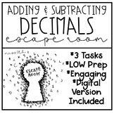 Adding And Subtracting Decimals Worksheets & Teaching