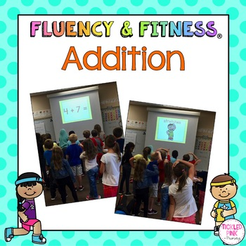 Addition Math Facts Fluency Fitness Brain Breaks Distance Learning