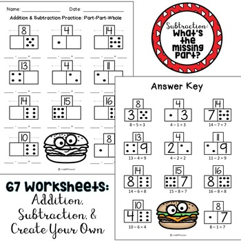 Addition & Subtraction Prin... by TheHappyTeacher