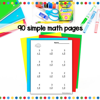 Addition and Subtraction Bundled Practice for the Common