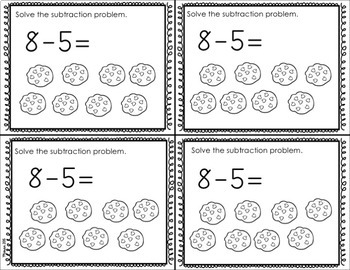 Kindergarten Addition and Subtraction Exit Tickets (OA