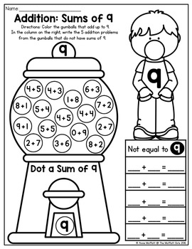 Addition and Subtraction Bubble Gum Numbers! by The