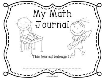 Addition and Subtraction Math Journals for Kindergarten