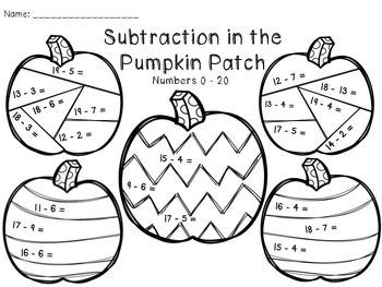 Addition and Subtraction in the Pumpkin Patch by The Busy