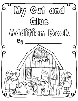 Addition on the Farm Story Problem Packet by Teacher Laura