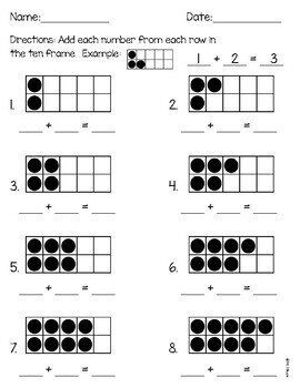 Addition with Doubles and Doubles Plus One Practice
