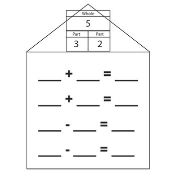 Addition/Subtraction Fact Family Pattern Practice by
