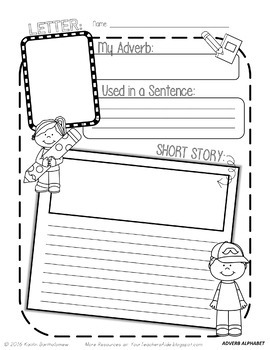 Adverb Unit {Creative and Hands-On Activities} by Mrs Bart