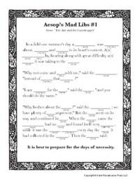 Math Mad Libs Worksheets. Math. Best Free Printable Worksheets