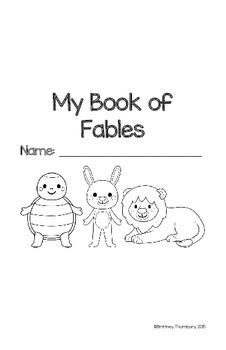 Aesop's Fables Book & Assessment by resourcefulness is a