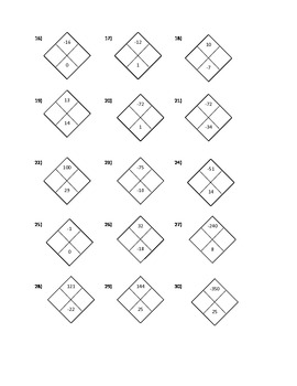 Math Diamond Worksheets. Math. Best Free Printable Worksheets