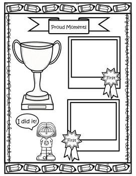 First Week of School Activities ( All About Me) by Stars