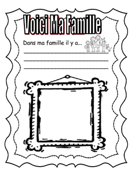 All About Me (C'est Moi!) in FRENCH. Great first days of