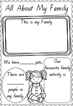 All About Me QLD Beginners Font: Worksheets, Booklet by My