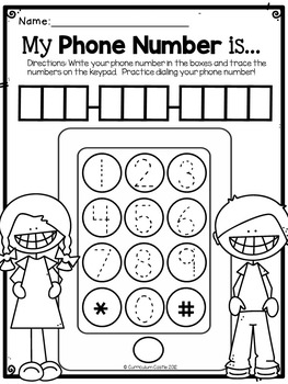 All About Me Thematic Unit: Perfect for Pre-K and K! by