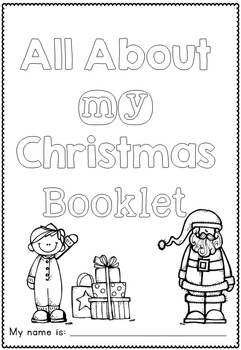 All About My Christmas Craftivity and Printables by Clever