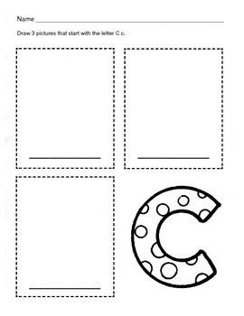 Alphabet Bundle / Alphabet & Phonics Worksheets / Letter